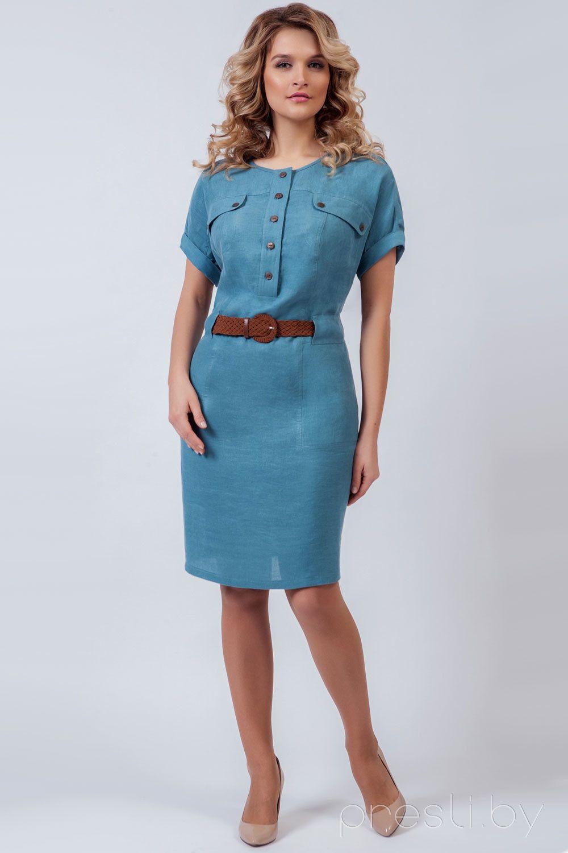 5e8a158dce48433 Платье женское 100% лен от Amelia Lux купить недорого женскую одежду ...