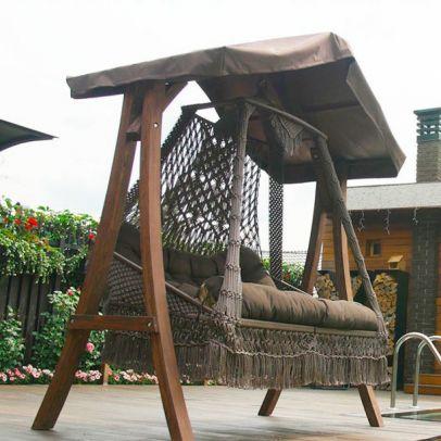 Каркас с крышей КАРАВЕЛЛА для качелей СЕАРА