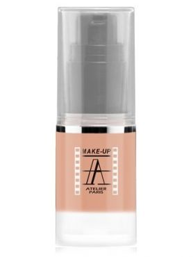 Make-Up Atelier Paris HD Fluid Blush AIRNU1 Nude Румяна-флюид HD телесные (натуральный)