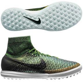 Шиповки-сороконожки Nike MagistaX Proximo TF золотые