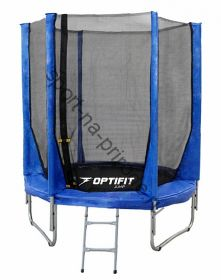 Батут OPTIFIT JUMP 6ft 1,83 м синий