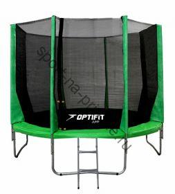 Батут OPTIFIT JUMP 10ft 3,05 м зеленый