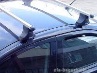 Багажник на крышу Toyota Camry XV30 2002-06, Атлант, прямоугольные дуги