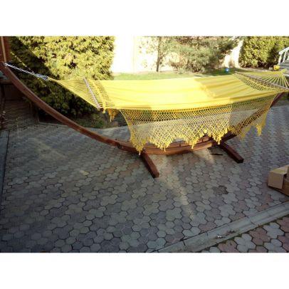 Гамак ТУЛИП (желтый) 380смХ165см