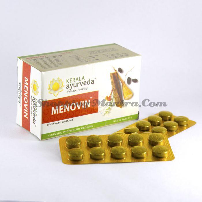 Меновин препарат для женщин в климактерический период Керала Аюрведа / Kerala Ayurveda Menovin