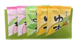026089 Соль для ванны увлажняющая (ароматы персика и полыни, 25g*1,25g*1)