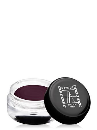 Make-Up Atelier Paris Cream Eyeshadow ESCBV Purple brown Тени для век кремовые пурпурно-коричневые