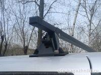 Багажник на крышу Chevrolet Niva, Евродеталь, стальные дуги