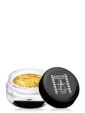 Make-Up Atelier Paris Cream Eyeshadow ESCOR Gold Тени для век кремовые игристое золото (сверкающее золото)