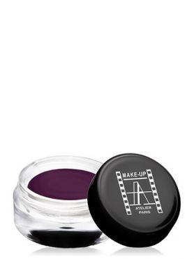 Make-Up Atelier Paris Cream Eyeshadow ESCAU Aubergine Тени для век кремовые баклажан (розово-баклажанные с мерцанием)