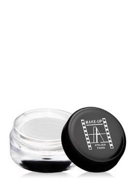 Make-Up Atelier Paris Cream Eyeshadow ESCB Blanc nacrе Тени для век кремовые перламутрово-белые