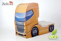 Кровать-машина Scania (Скания) нижнерусная