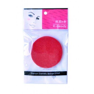 K-Beauty Спонж косметический для очищения кожи лица в инд. упак.