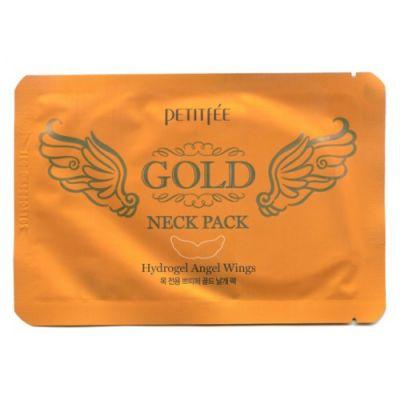 802995 Маска для кожи шеи гидрогелевая (с золотом и экстрактом улитки) 10г
