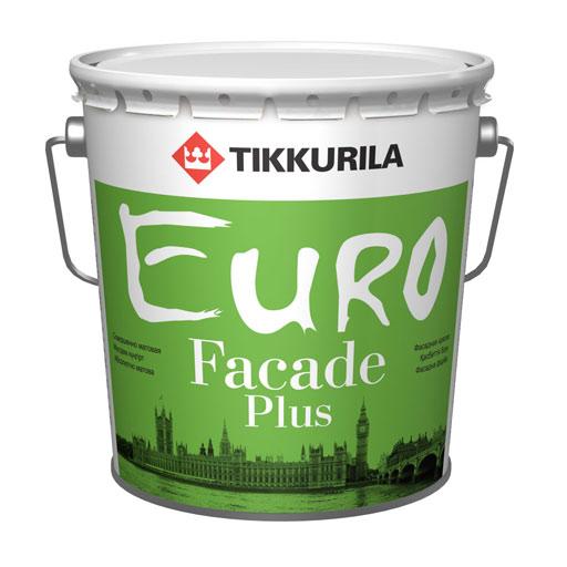 Евро Фасад Плюс – акриловая фасадная краска с силиконом