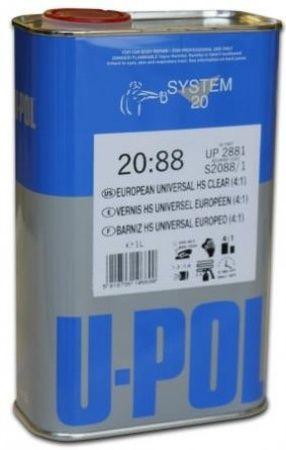 U-Pol S2088 Universal HS Лак  4:1, 1л.