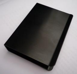 Зажим для карт - алюминий - чёрный