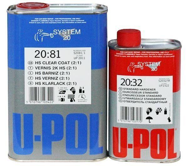U-Pol S2081 HS Лак Clear 2:1