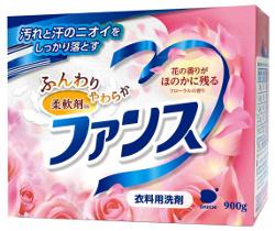 Японский стиральный порошок с умягчителем и цветочным ароматом DAIICHI ФАНСУ 900гр