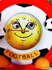 """Часы-маятник """"Футбол"""" (21см.)"""