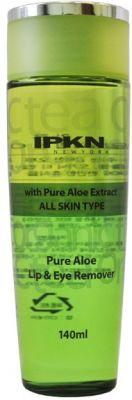IPKN NEWYORK Двухфазная жидкость для снятия макияжа с губ и глаз с экстрактом алоэ 140мл