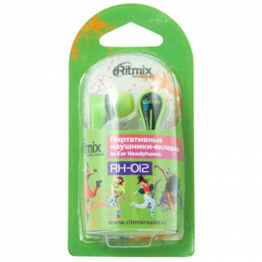 Наушники вакуумные RITMIX RH-012 Green