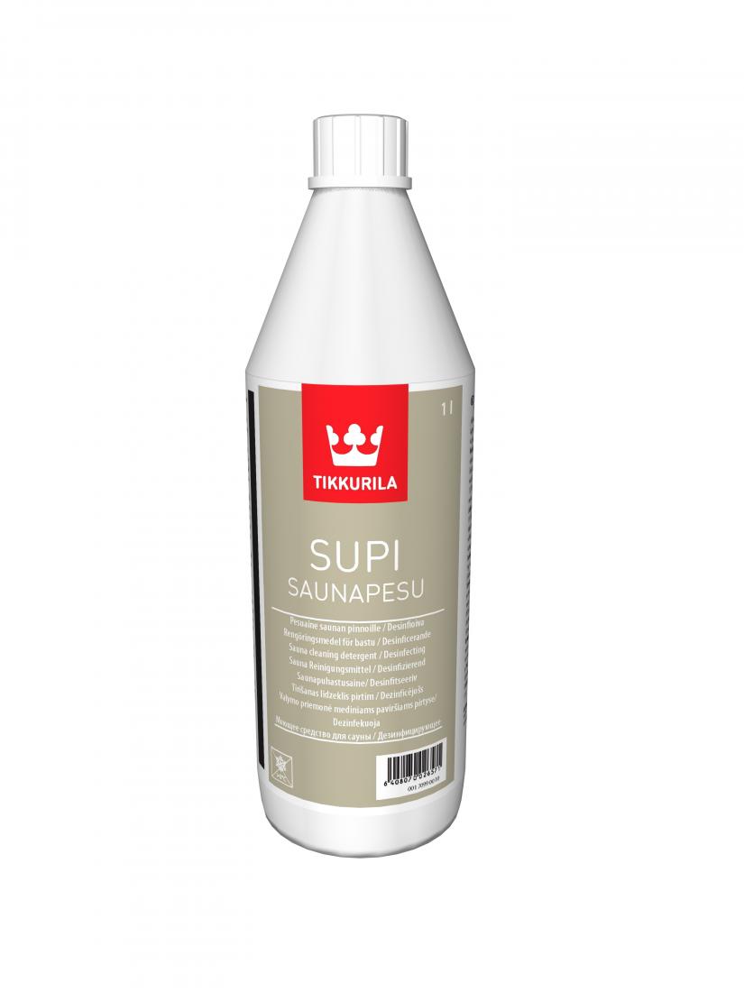 Супи Саунапесу – универсальное моющее средство для бань