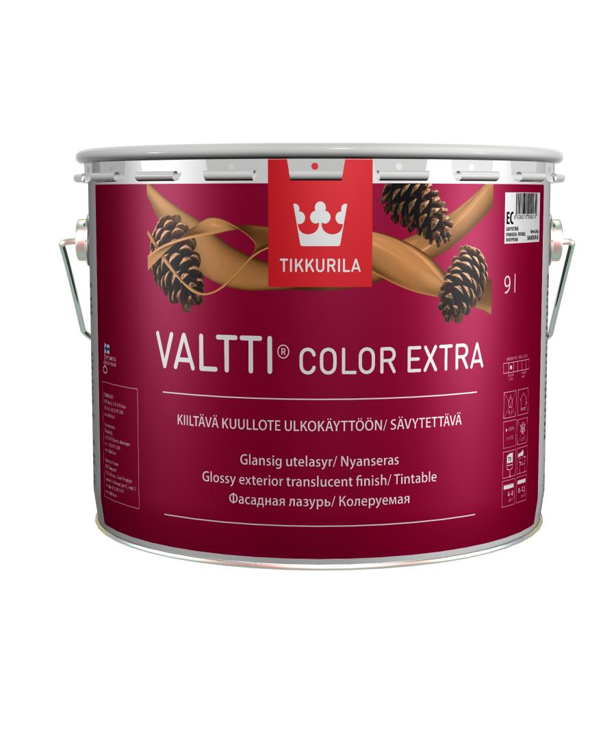 Фасадный антисептик Tikkurila Valtti Color Extra