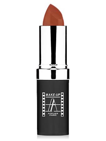"Make-Up Atelier Paris Cristal Lipstick B14 Natural brown Помада ""Кристалл"" натурально - коричневый"