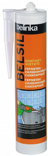 Герметик Belinka Belsil Sanitary Acetate