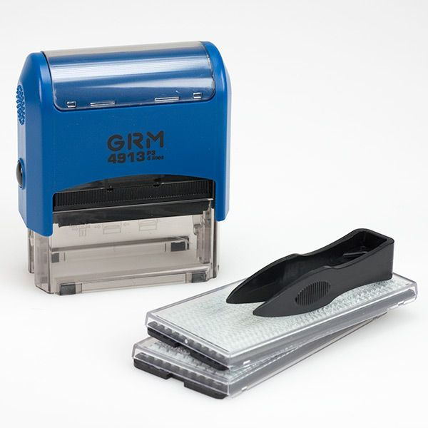 Самонаборный штамп 5 строк, 58х22 мм