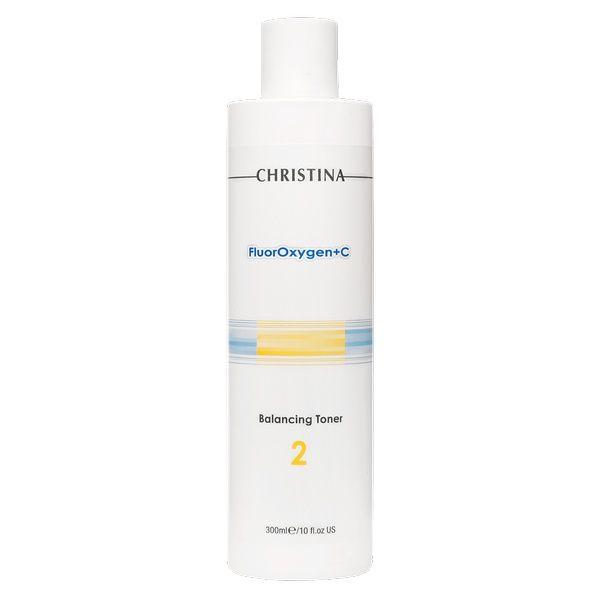 Балансирующий тоник для лица  рН 2,8-3,5 FluorOxygen+C Christina (ФлюрОксиген Кристина) 300 мл