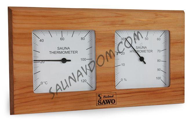 Термогигрометр SAWO 224 - THD, кедр канадский
