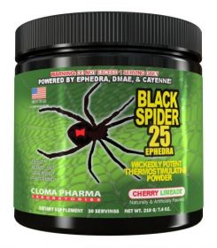 Cloma Pharma Black Spider Powder (210 гр.)