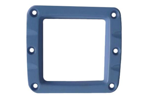 Синяя декоративная алюминиевая накладка для 2-х дюймовых фар