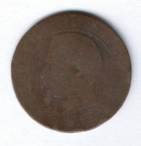 5 сантимов Наполеон III Франция