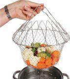 Складная решетка для приготовления пищи Шеф Баскет
