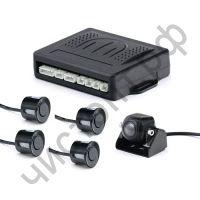 """Парковочный комплект JMK-R233 (1/4"""" ССD, 420TВ, 0,5 LUX, 4 датчика движения, голосовое оповещение)"""