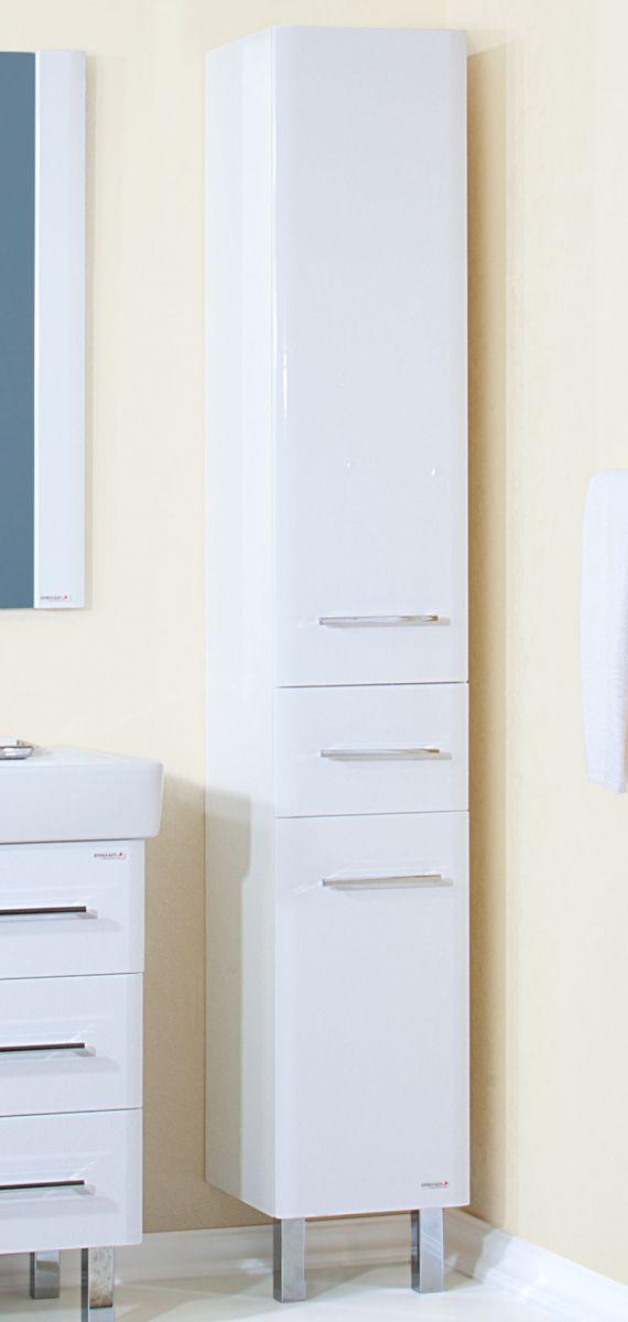 Пенал для ванной комнаты Бриклаер Аквавита 32, 3D