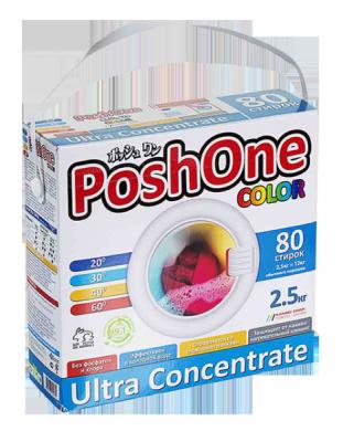 Корейский стиральный порошок без фосфатов для цветного белья PoshOne Color в ассортименте