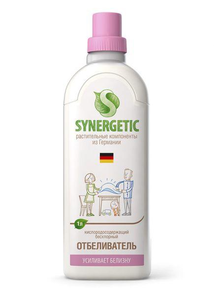 Кислородный отбеливатель для белья Synergetic 1л