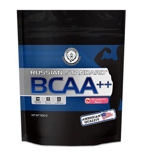 RPS BCAA++ 8:1:1 500 гр. пакет - черная смородина