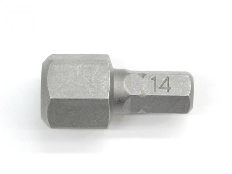 5/16' Бита 6-гранная 70ммL, H10