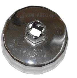 Cъемник масляного фильтра (крышка) 84мм х 14гр