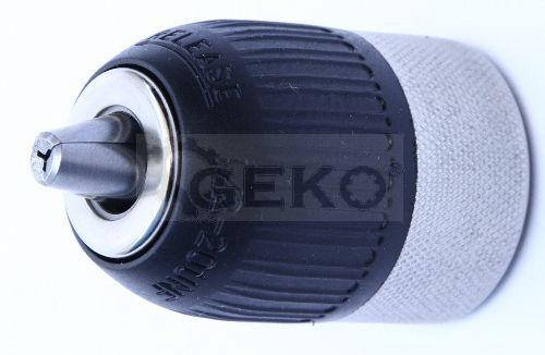 Патрон сверлильный самозаж. 13-1/2 (полумет.) 'Geko'