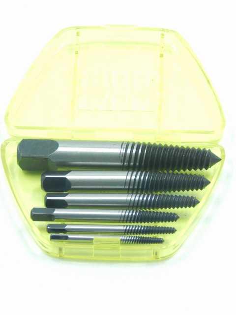 6пр. Набор экстракторов резьбы в пластиковом футляре