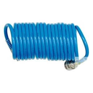 Шланг спиральный для воздуха 8х12мм 5м (PU) 'H-D'