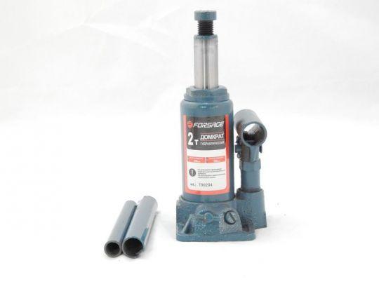 Домкрат бутылочный  2 т с клапаном (h min 148мм, h max 278мм,вес 2,4 кг)