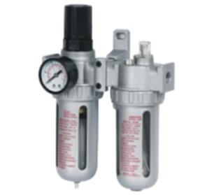 Блок подготовки воздуха (фильтр + регулятор + маслодобавитель) 3/8' (0-10bar)