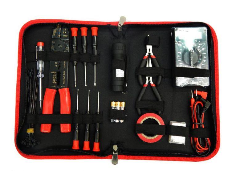 Набор инструмента для электрика 55пр.в сумке